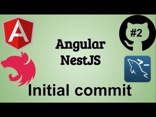 #2 Создание блога. Angular, NestJS. Настройка окружения. Джедай Web Разработки