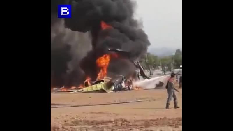Крушение МИ-17 в Индонезии