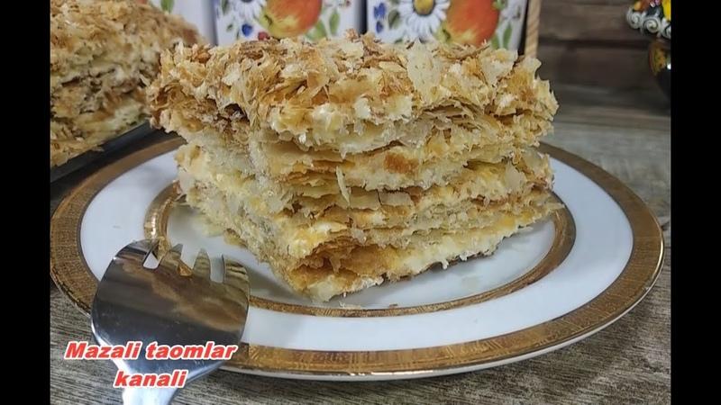 Napoleon torti ТОРТ НАПОЛЕОН Napoleon cake
