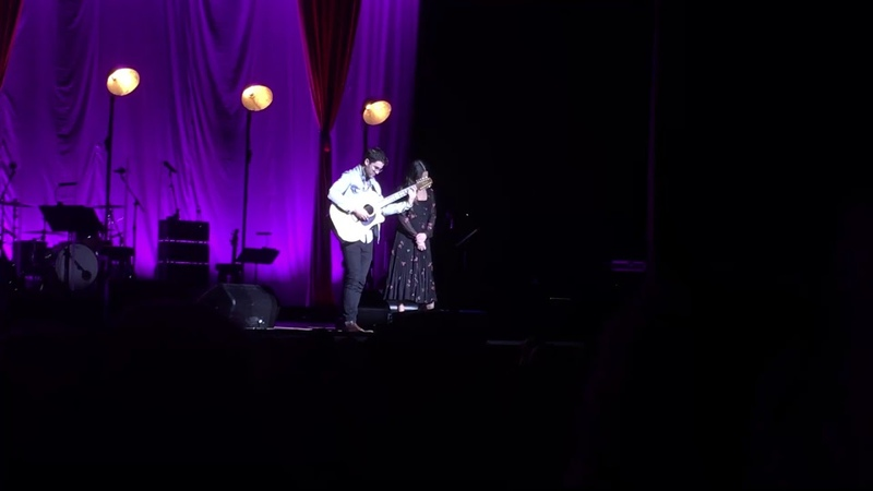 Darren Criss and Lea Michele- Make You Feel My Love (LMDC Tour Manchester)