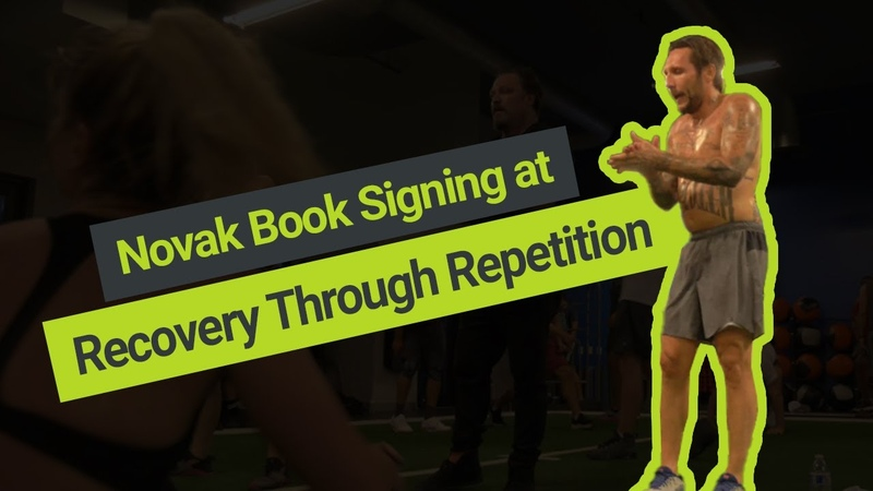 Brandon Novak Signing at Recovery Through Repetition