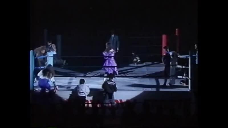 WH ЖПВ Битва Королев Грома в Йокогаме II Чигуса Нагайо Кьюти Сузуки vs Девил Мисами Плам Марико