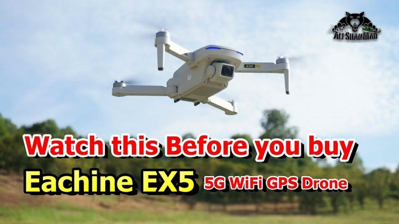DJI mavic mini Clone Eachine EX5 5G WiFi 4K Camera GPS Drone
