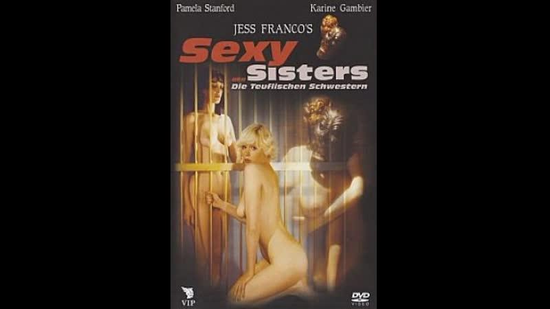 Satanic sisters Devilish Sister Aberraciones sexuales de una rubia caliente 1977 Esp Cast