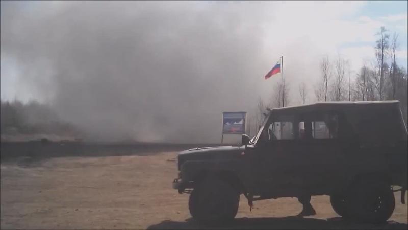 Падает ракета (после запуска, Россия)