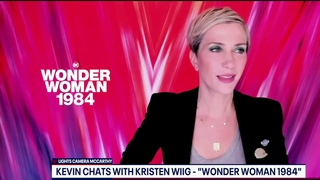 Kristen Wiig talks playing the villain, filming in the nation's capital for Wonder Woman 1984