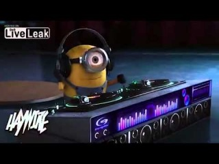 Despicable Me Agnes Vs Minions Dropping The Beat - Haywire Mash Up
