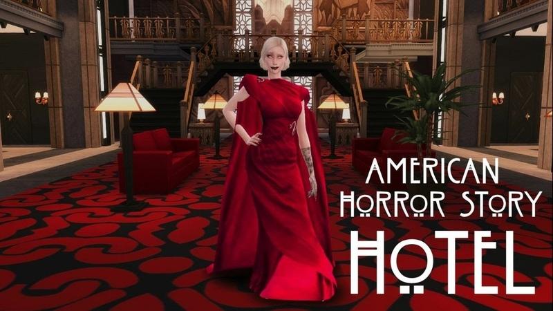 AHS HoTeL CorteZ The Sims 4 Отель Кортез в Симс 4 Американская История Ужасов