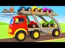 Развивающие мультики Машины помощники. Большой сборник для детей