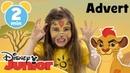 The Lion Guard   Kion Face Painting Tutorial   Disney Junior UK AD
