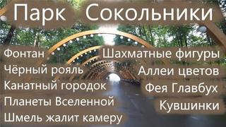 """Прогулка по парку """"Сокольники"""" (г. Москва)"""