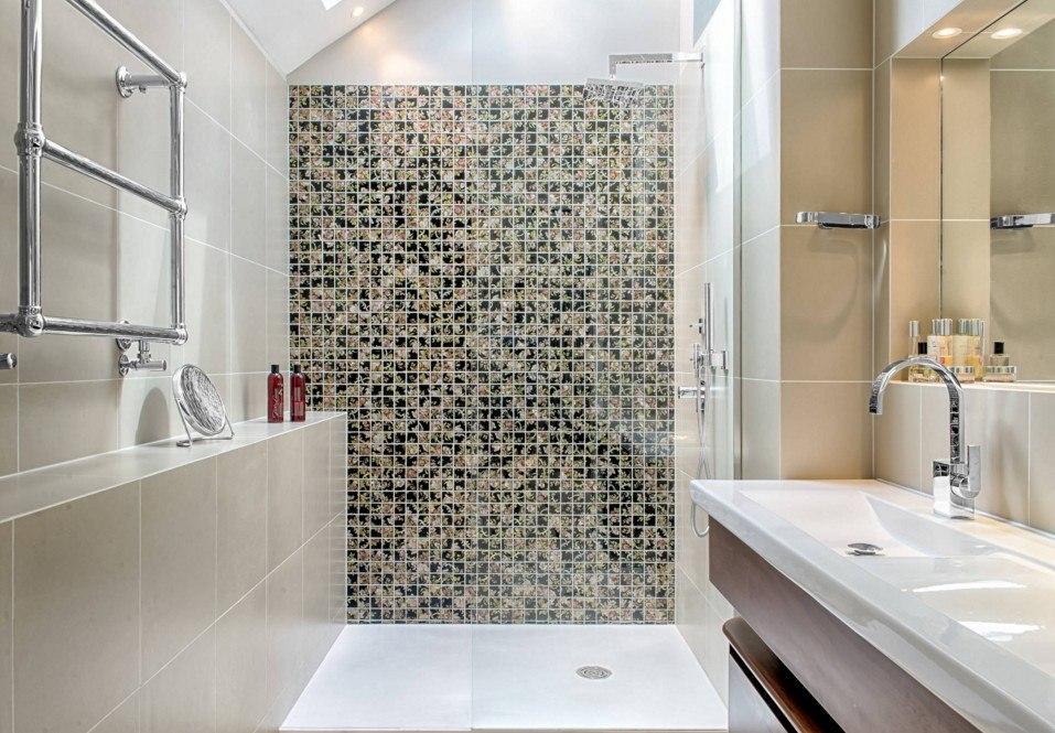 Модный дизайн плитки в ванной