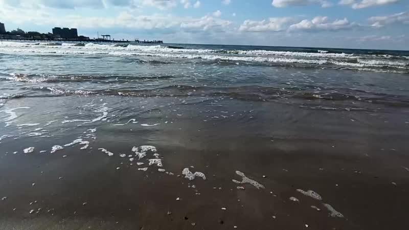 Море осень Анапа