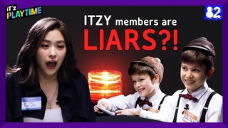 (CC) ITZY gets interrogated by kids I IT'z PLAYTIME EP.1