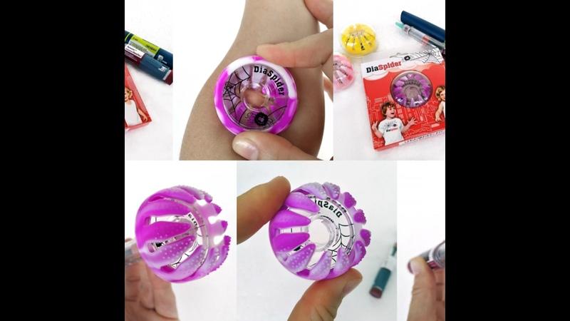 Видео от Диабет DiaSpider введение инсулина Без Боли