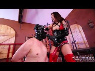 Miss Roper and the Disobedient slave [Leather Femdom Mistress Anal БДСМ Strapon Latex Фемдом BDSM Bondage Госпожа]