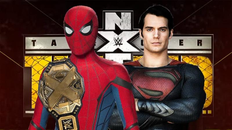 Человек-Паук (с) против Супермена (с Бэтменом)