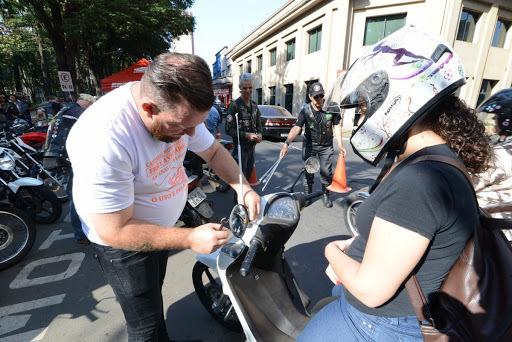 Защитные антенны на мотоцикл. Бразилия