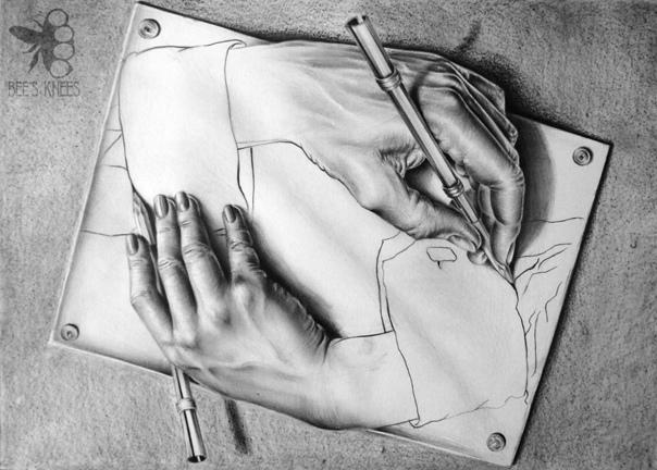 creative hand drawings - 900×644