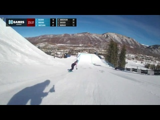 MEDAL RUNS_ Pacifico Women's Snowboard Big Air _ X Games Aspen 2021