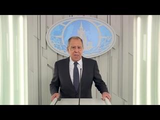 Поздравление Министра иностранных дел Российской Федерации С.В.Лаврова по случаю Дня дипломатического работника