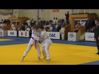 Атмосферное выступление нашей воспитанницы на соревнованиях по дзюдо г.Кемерово