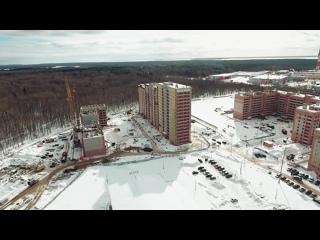 Вид с верхних этажей ЖК «Три Богатыря»
