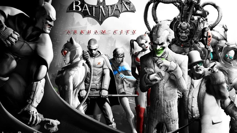 Batman Arkham City Серия 1 Город безумцев