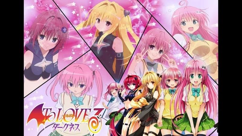 аниме 2012 18 Любовные неприятности Тьма OVA 2 1 6 из 6 To Love Ru Trouble Darkness OVA 2 все серии