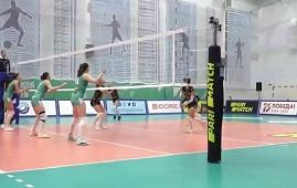 Родные стены в Липецком районе помогают волейболисткам побеждать
