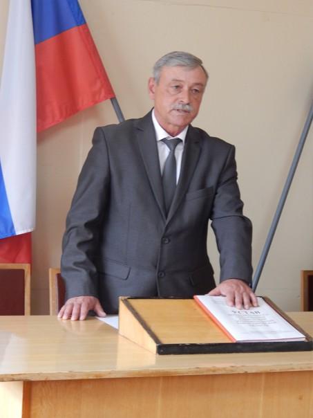С.Ю.Галкин вступает в должность главы Кикнурского муниципального округа.