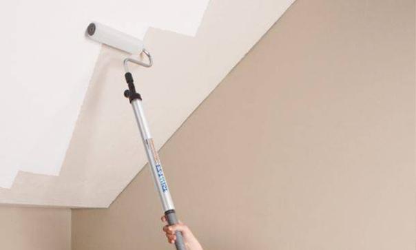 Как перекрасить потолок и стены после неудачной покраски?