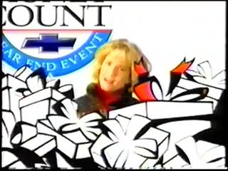 LEA THOMPSON, MARTY McFLYS MOM, shills for CHEVROLET circa 1990s