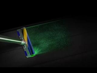 Dyson выпустила пылесос с лазером для подсветки пыли на полу.