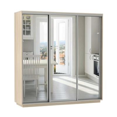 Шкаф Экспресс Экспенс трио (фасад зеркало) ш 2100