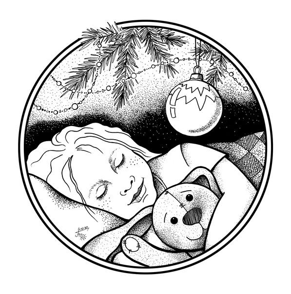 Рождественская сказка - Ты зачем эту елку притащил - Евгения Петровна грозно надвигалась на супруга, который был слегка подшофе, глуповато улыбался и бережно прижимал к груди небольшую