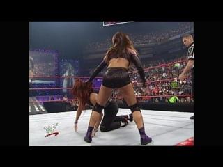 WWF Raw Is War  - Lita vs Ivory