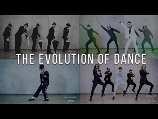 The Evolution of Dance - 1950 to 2019 - By Ricardo Walkers Crew