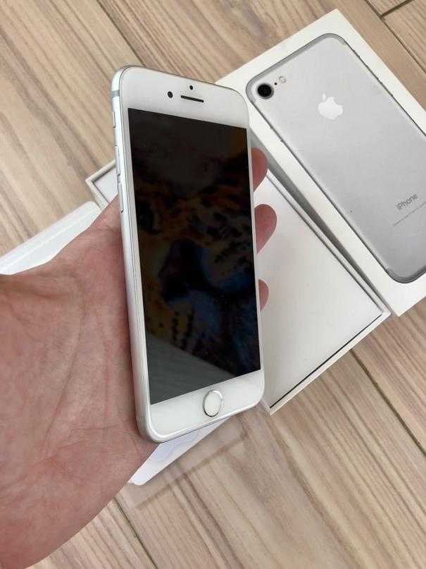 Купить iPhone 7 128 Silver  Состояние отличное  | Объявления Орска и Новотроицка №12669