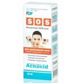 Концентрат для проблемной кожи SOS-уход Acnacid 15мл