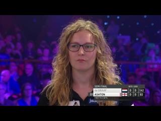 Lisa Ashton vs Aileen de Graaf (BDO World Darts Championship 2017 / Semi Final)