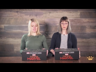 Marvel Collector Corps Amazon Captain Marvel Unboxing!