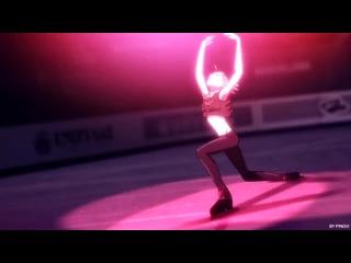 not today [yuri on ice] Канал  by pingvi. Юри на льду. Юрий Плисецкий. Клип.