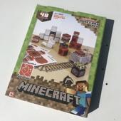 Minecraft Papercraft Overworld Minecart Pack