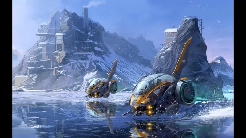 Фэнтези 1 Антарктида Гиперборея Лёд и Холод