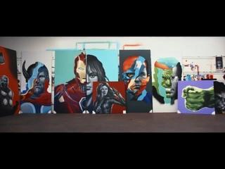 Intel Core с упаковкой Marvel's Avengers Collector's Edition