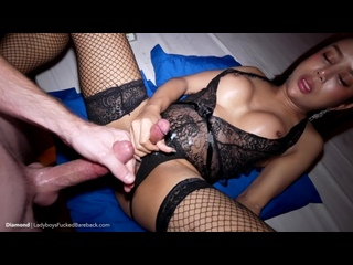 Diamond Packed Lingerie Frot Cum On Cock Transsexuals, Shemale, Ladyboy, Asian, Anal, Ass to Mouth