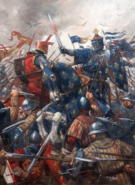 Англичане против французов