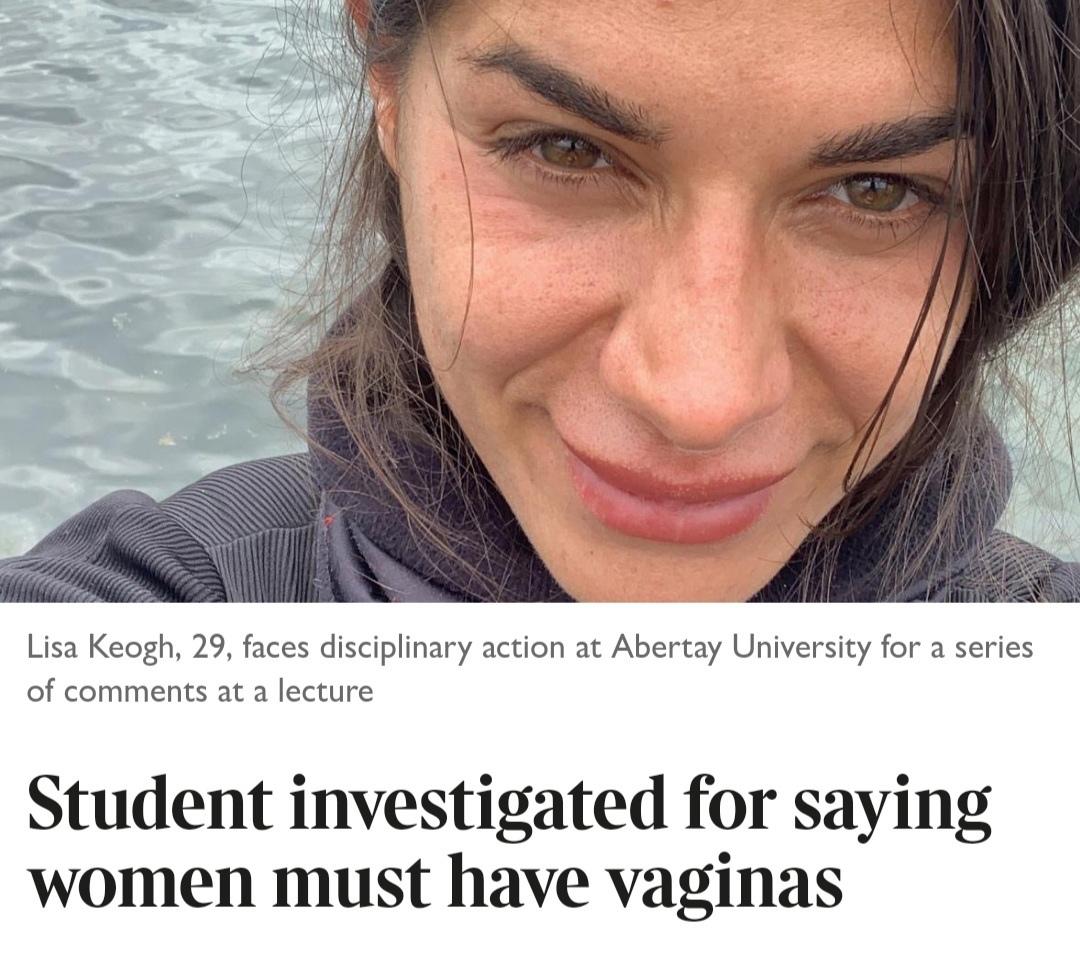 """На студентку заведено расследование за выражение """"У женщин должны быть вагины"""""""