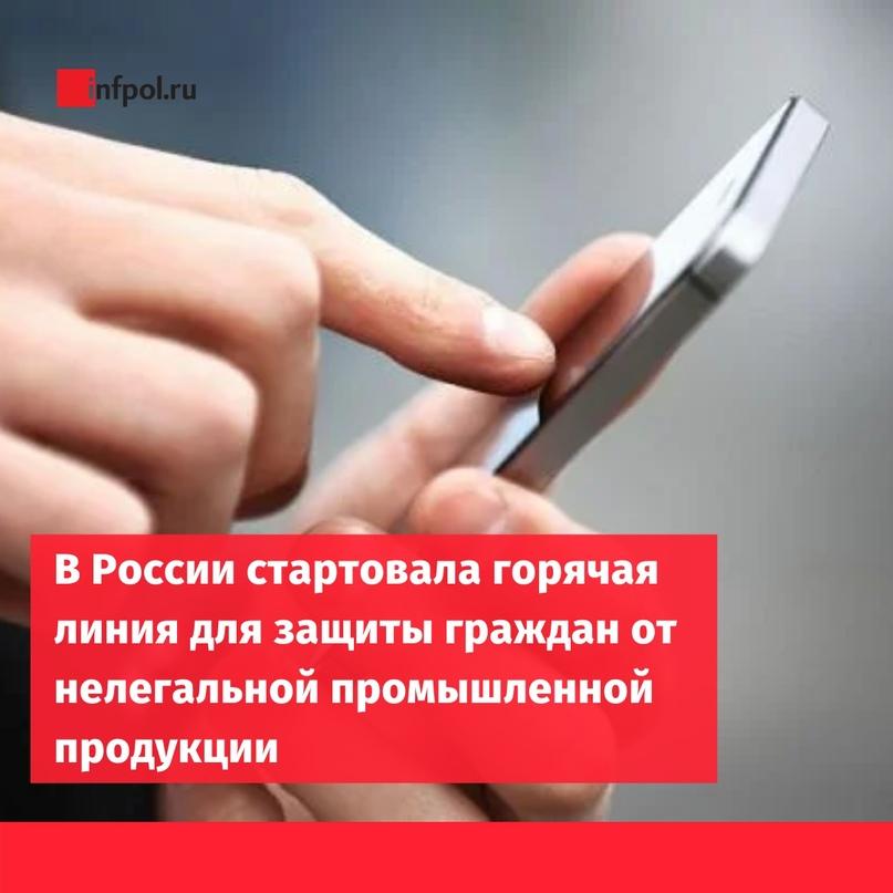 В России стартовала единая федеральная горячая линия «Антиконтрафакт» для защиты...